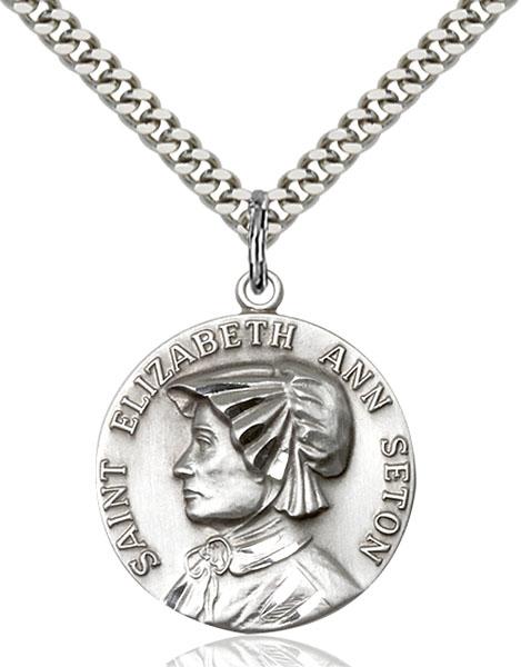 Sterling Silver St. Ann Pendant