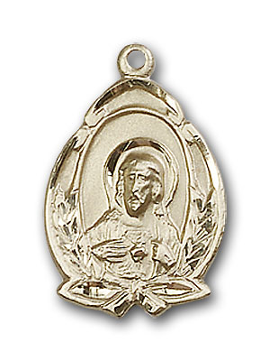 Gold-Filled Scapular Pendant