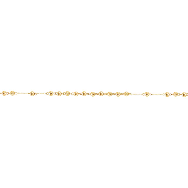 14K Gold Rosary Beads
