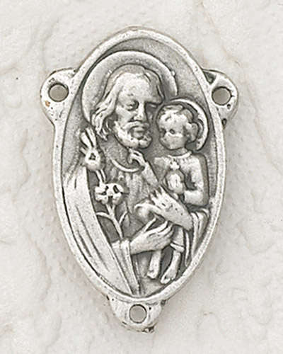 25-Pack - St Joseph / Jesus Rosary Centerpiece