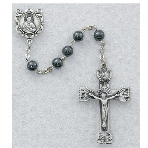 6MM Genuine Hematite Rosary