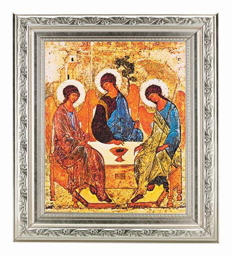 """The Trinity Ornate Silver Frame 10X12"""" 8X10 Print"""