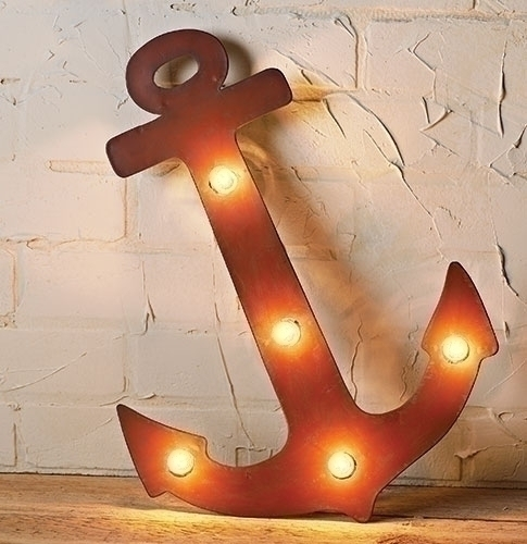 18-inch H Anchor Metal With 5 C7 Lites