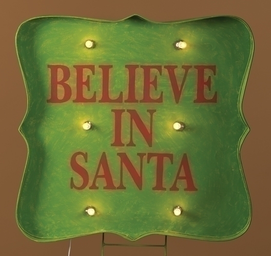 36-inch Ltd Believe Sign Stake Yard
