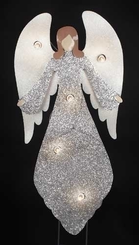 36-inch Angel With 5 C7 Lights Yard