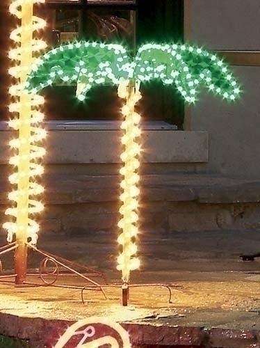 4.5' Ropelight Palm Tree