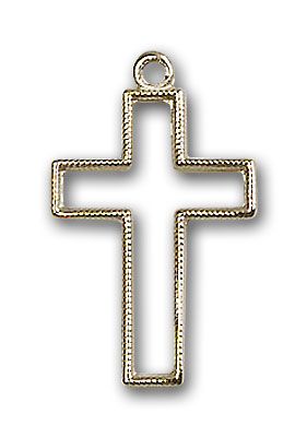 Gold-Filled Cross Pendant