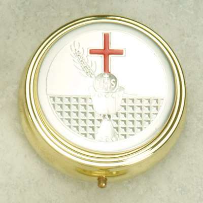 Silver Plated Pyx with First Holy Communion- Chalice