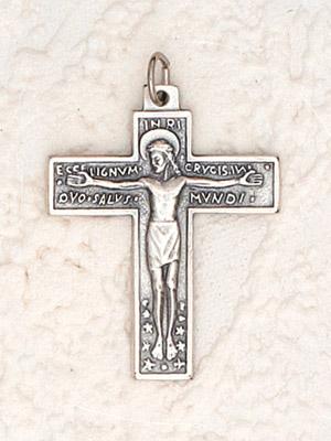 25-Pack - Florentine Crucifix - 1-1/4 inch