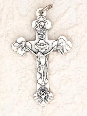 25-Pack - Trinity Crucifix - 1-3/4 inch