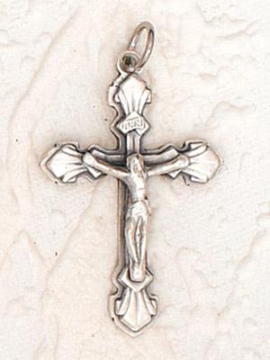 25-Pack - Fleur Crucifix - 1-1/8 inch