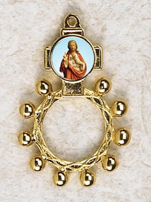 12-Pack - Sacred Heart of Christ Finger Rosary