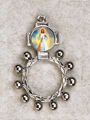 12-Pack - Divine Mercy Finger Rosary