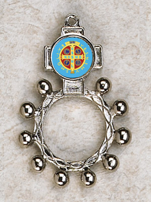 12-Pack - St Benedict Finger Rosary