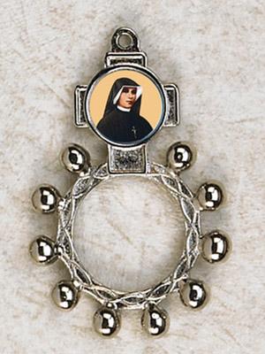 12-Pack - St Faustina Finger Rosary