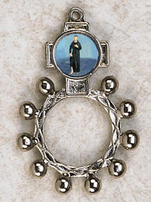 12-Pack - St Peregrine Finger Rosary