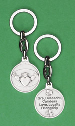 6-Pack - Claddagh Key Ring