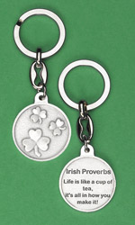 6-Pack - Irish Proverb Key Ring