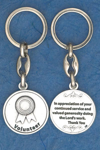 6-Pack - Volunteer Keyring