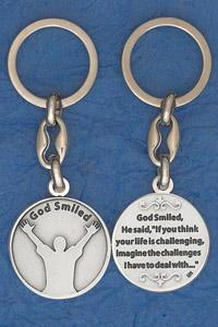 6-Pack - Keychain- God Smiled