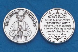 25-Pack - Religious Coin Token - St John Vianney