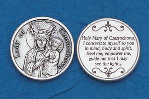 25-Pack - Religious Coin Token - Czestochowa