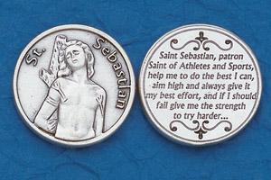 25-Pack - Religious Coin Token - St Sebastian
