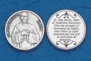 25-Pack - Religious Coin Token - St Maximillian Kolbe