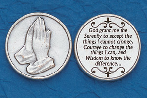 25-Pack - Religious Coin Token - Serenity Prayer