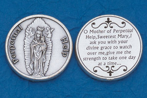 25-Pack - Religious Coin Token - Lady of Perpetual Help