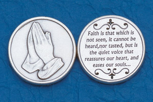 25-Pack - Religious Coin Token - Faith is that which is not seen