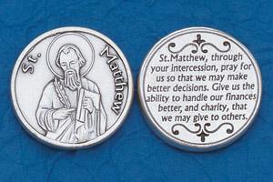 25-Pack - Religious Coin Token - St Matthew