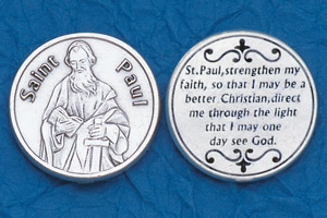 25-Pack - Religious Coin Token - St Paul
