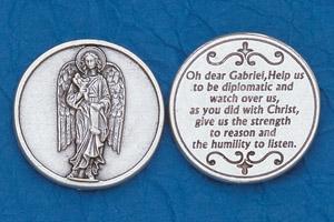 25-Pack - Religious Coin Token - Archangel Gabriel-