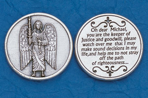 25-Pack - Religious Coin Token - Archangel Michael-