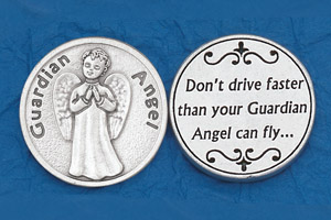 25-Pack - Religious Coin Token - Don't Drive Faster -