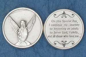 25-Pack - Coin- Holy Spirit- On this Special Day