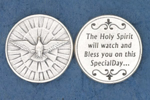 25-Pack - Coin- Holy Spirit- The Holy Spirit will watch