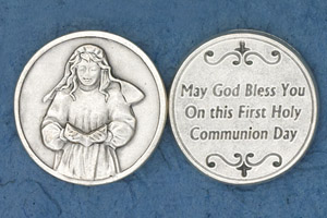 25-Pack - Coin- Girl Praying- May God Bless you_