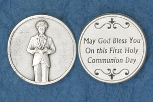 25-Pack - Coin- Boy Praying- May God Bless you