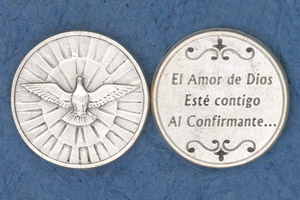 25-Pack - Coin- Holy Spirit- El Amor de Dios