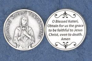 25-Pack - Religious Coin Token -Blessed Kateri Tekakwitha