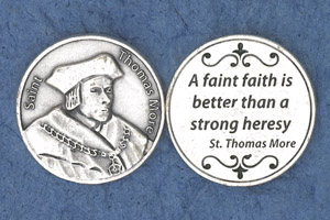 25-Pack - Religious Coin Token -St Thomas More