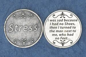25-Pack - Religious Coin Token -Stress