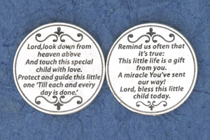 25-Pack - Religious Coin Token - Lord Look down from Heaven above