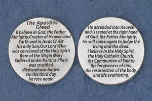 25-Pack - Religious Coin Token - The Apostles Creed