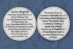 25-Pack - Religious Coin Token - Salve Regina