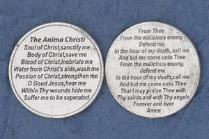 25-Pack - Religious Coin Token - The Anima Christi