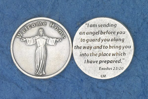 25-Pack - Religious Coin Token - Welcome Home