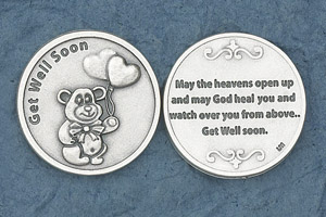 25-Pack - Get Well Soon Coin